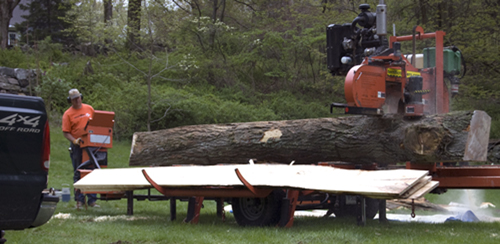 CT Portable Sawmill Service-Terrific Timbers LLC
